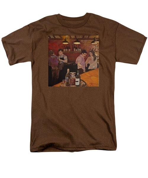 Cafe Men's T-Shirt  (Regular Fit) by Julie Todd-Cundiff