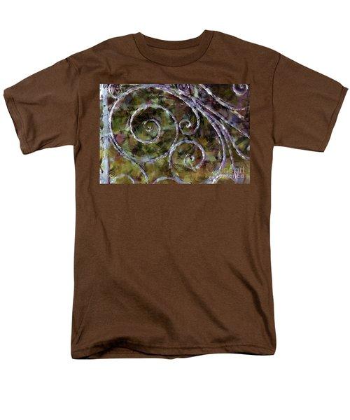 Iron Gate Men's T-Shirt  (Regular Fit) by Donna Bentley
