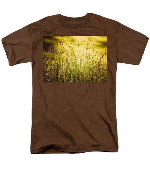 Men's T-Shirt  (Regular Fit) featuring the photograph Lavender Gold by Sara Frank