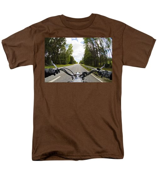On The Road Men's T-Shirt  (Regular Fit) by Micah May