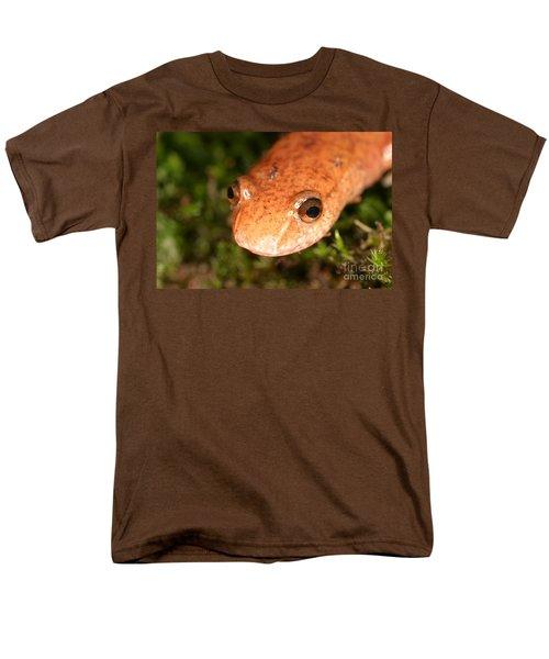 Spring Salamander Men's T-Shirt  (Regular Fit) by Ted Kinsman