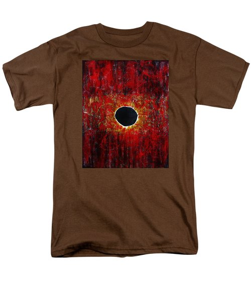 Men's T-Shirt  (Regular Fit) featuring the painting A Long Time Coming by Michael Cross