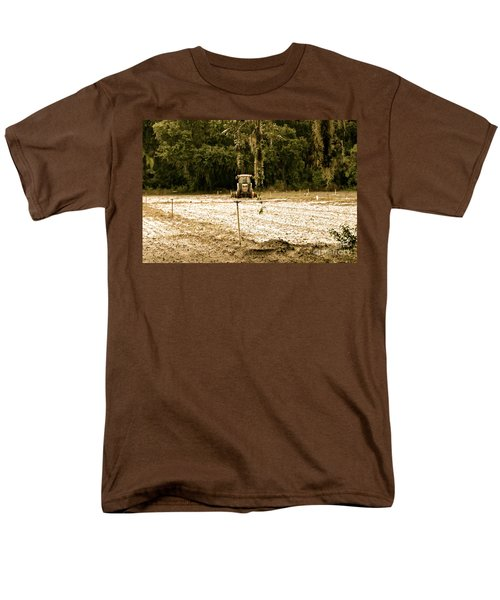 A Time To Plant Men's T-Shirt  (Regular Fit) by Carol  Bradley