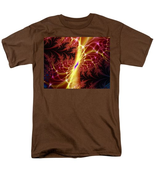 Men's T-Shirt  (Regular Fit) featuring the digital art A Twist Of Fate by Ester  Rogers