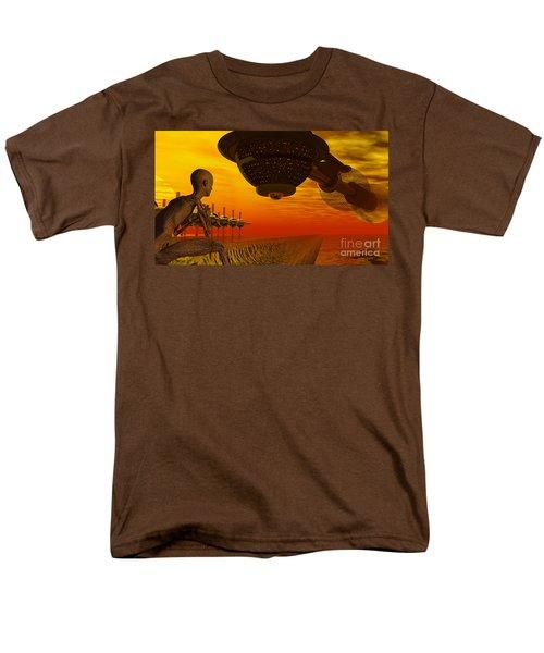 Alien Homecoming Men's T-Shirt  (Regular Fit)
