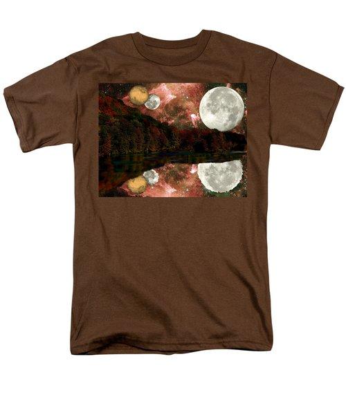 Alien World Men's T-Shirt  (Regular Fit) by Sarah McKoy