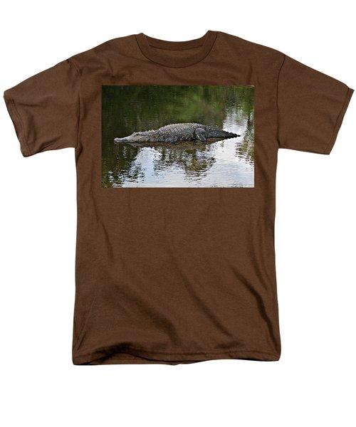 Alligator 1 Men's T-Shirt  (Regular Fit) by Joe Faherty