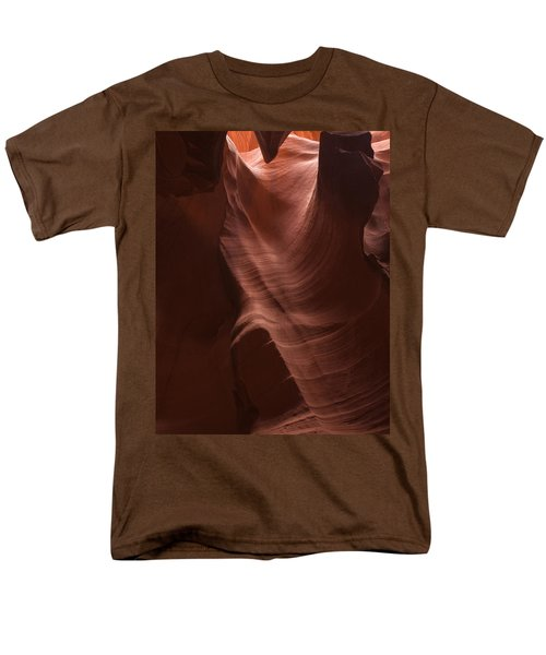 Arizona Slot Canyon Men's T-Shirt  (Regular Fit) by Andrew Soundarajan
