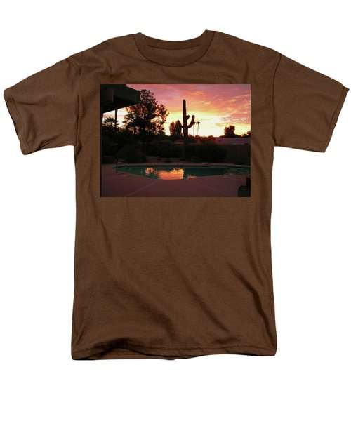 Arizona Sunrise 04 Men's T-Shirt  (Regular Fit) by Rand Swift