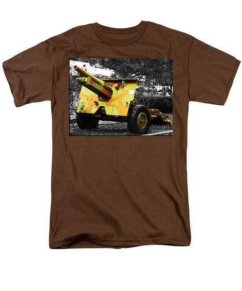 Men's T-Shirt  (Regular Fit) featuring the photograph Artillery Piece by Blair Stuart