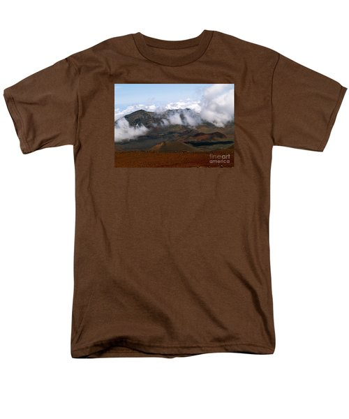 At The Rim Of The Crater Men's T-Shirt  (Regular Fit) by Patricia Griffin Brett