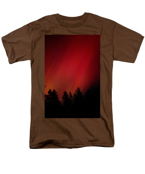 Aurora 01 Men's T-Shirt  (Regular Fit) by Brent L Ander