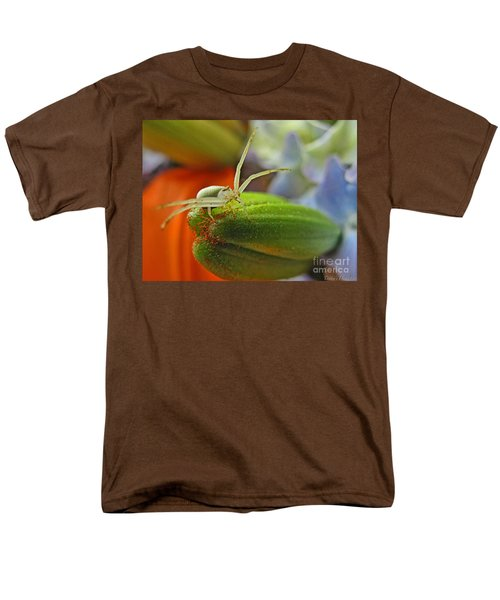 Men's T-Shirt  (Regular Fit) featuring the photograph Back Off by Debbie Portwood
