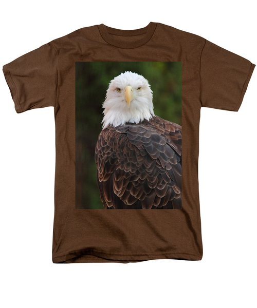 Men's T-Shirt  (Regular Fit) featuring the photograph Bald Eagle by Coby Cooper