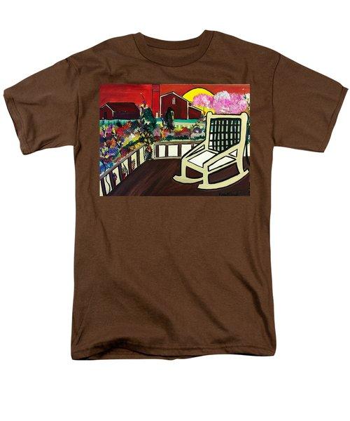 Barnyard Men's T-Shirt  (Regular Fit) by Kelly Turner