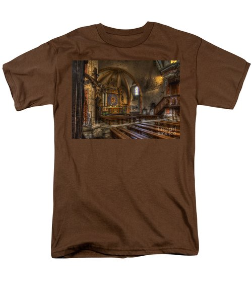 Baroque Church In Savoire France 2 Men's T-Shirt  (Regular Fit) by Clare Bambers