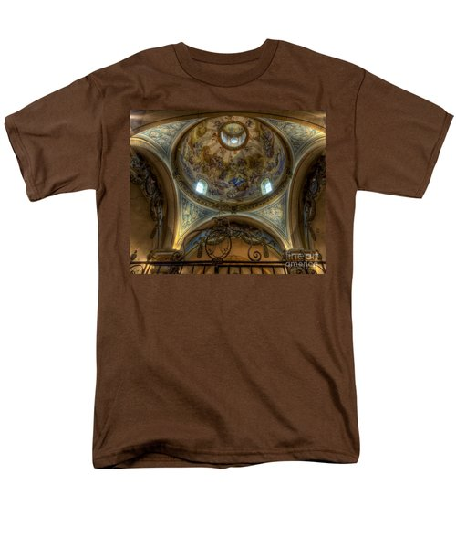 Baroque Church In Savoire France 5 Men's T-Shirt  (Regular Fit) by Clare Bambers