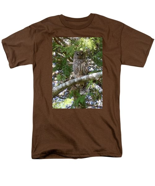 Barred Owl  Men's T-Shirt  (Regular Fit)
