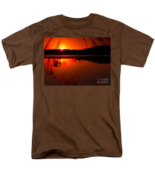 Men's T-Shirt  (Regular Fit) featuring the photograph Beauty Looks Back by Clayton Bruster