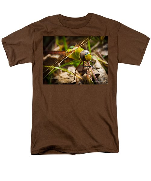Men's T-Shirt  (Regular Fit) featuring the photograph Big Brown Eyes by Cheryl Baxter