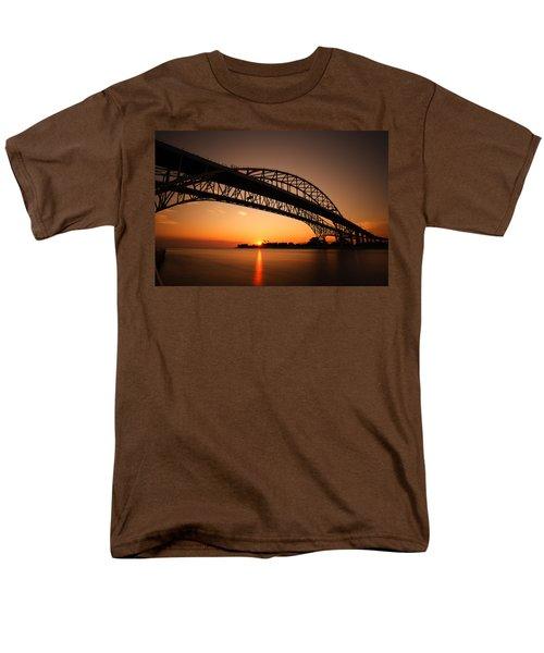 Men's T-Shirt  (Regular Fit) featuring the photograph Blue Dawn by Gordon Dean II