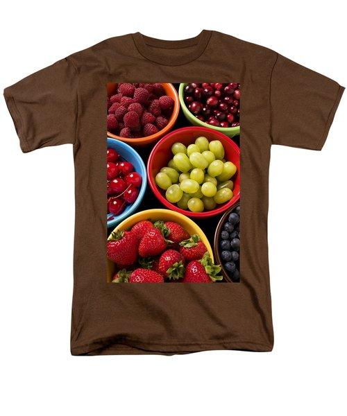 Bowls Of Fruit Men's T-Shirt  (Regular Fit) by Garry Gay