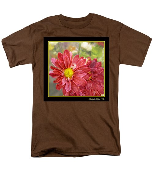 Men's T-Shirt  (Regular Fit) featuring the digital art Bright Edges by Debbie Portwood