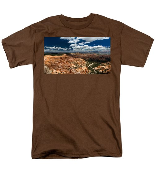 Bryce Canyon Ampitheater Men's T-Shirt  (Regular Fit) by Larry Carr