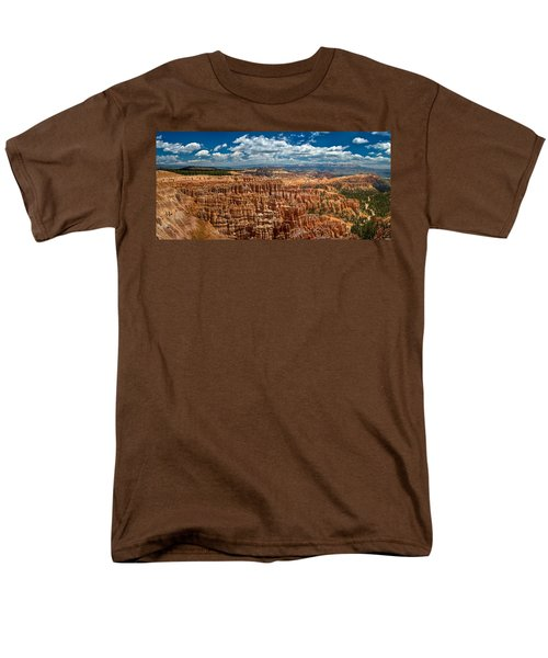 Bryce Canyon Men's T-Shirt  (Regular Fit) by Larry Carr
