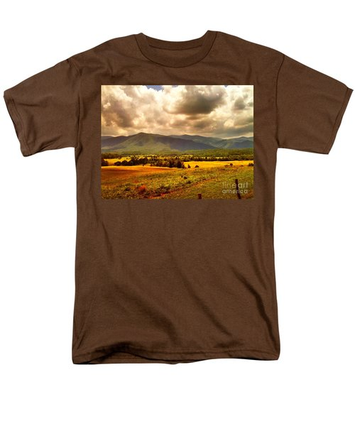 Cades Cove Men's T-Shirt  (Regular Fit) by Janice Spivey