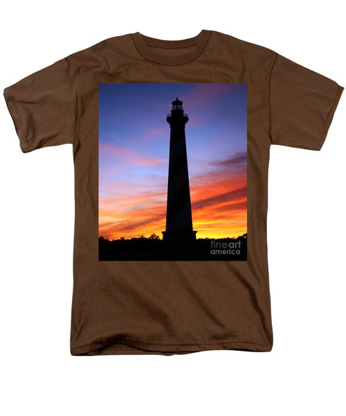 Cape Hatteras Sunset Men's T-Shirt  (Regular Fit) by Tony Cooper
