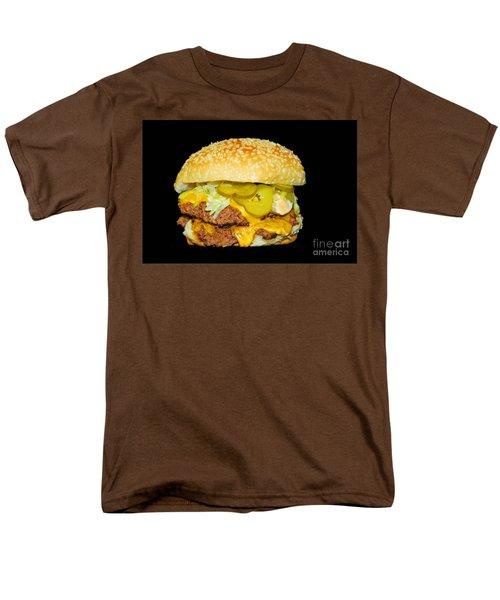 Cheeseburger Men's T-Shirt  (Regular Fit) by Cindy Manero