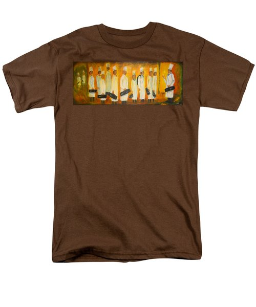 Chef School Men's T-Shirt  (Regular Fit) by Diana Haronis