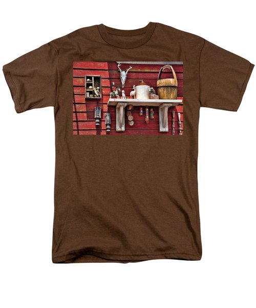 Collection On The Barn Men's T-Shirt  (Regular Fit) by Jan Amiss Photography