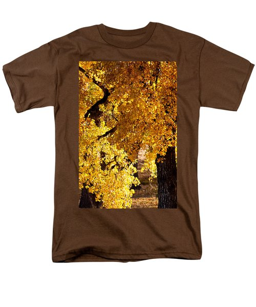 Colorado Gold Men's T-Shirt  (Regular Fit) by Colleen Coccia