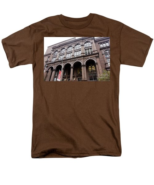Cooper Union Men's T-Shirt  (Regular Fit) by David Bearden