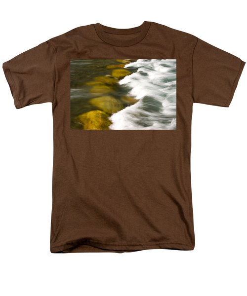 Crossing The Creek Men's T-Shirt  (Regular Fit) by Rich Franco