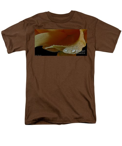 Men's T-Shirt  (Regular Fit) featuring the photograph Drops Of Light by Debbie Portwood