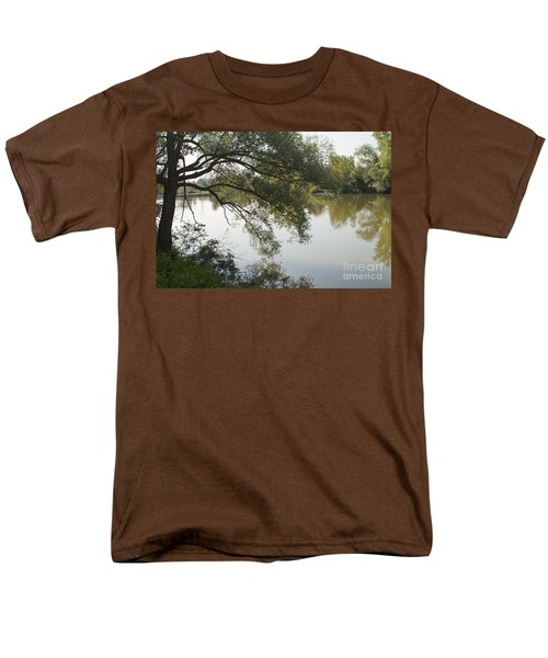 Men's T-Shirt  (Regular Fit) featuring the photograph Erie Canal Turning Basin by William Norton