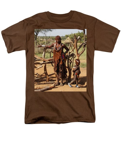 Ethiopia-south Mother And Baby No.2 Detail B Men's T-Shirt  (Regular Fit) by Robert SORENSEN
