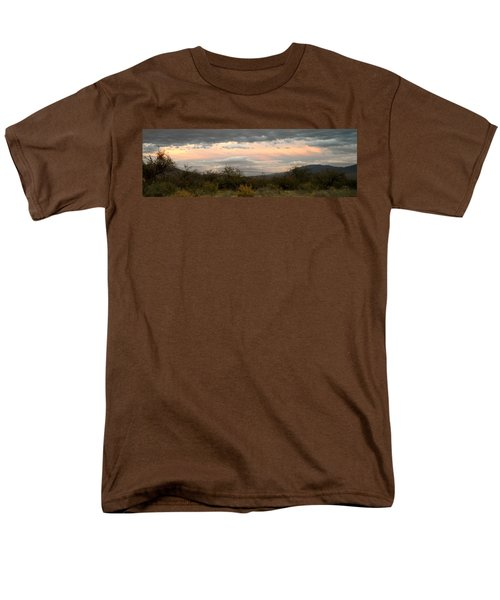 Men's T-Shirt  (Regular Fit) featuring the photograph Evening In Tucson by Kume Bryant