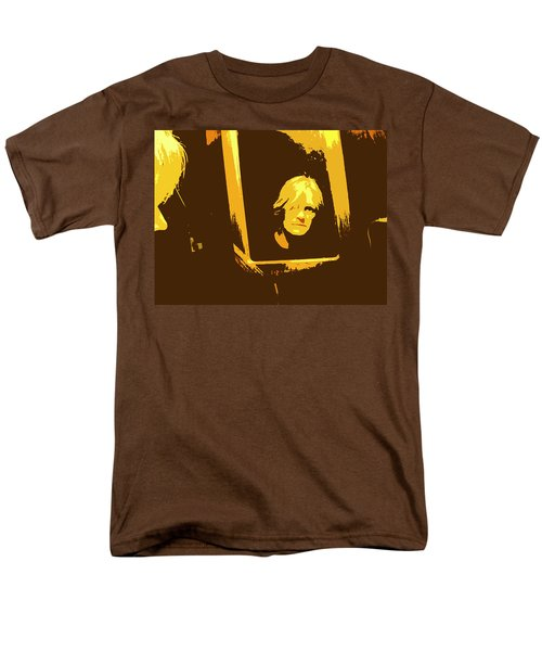 Face In The Mirror Men's T-Shirt  (Regular Fit) by Anne Mott
