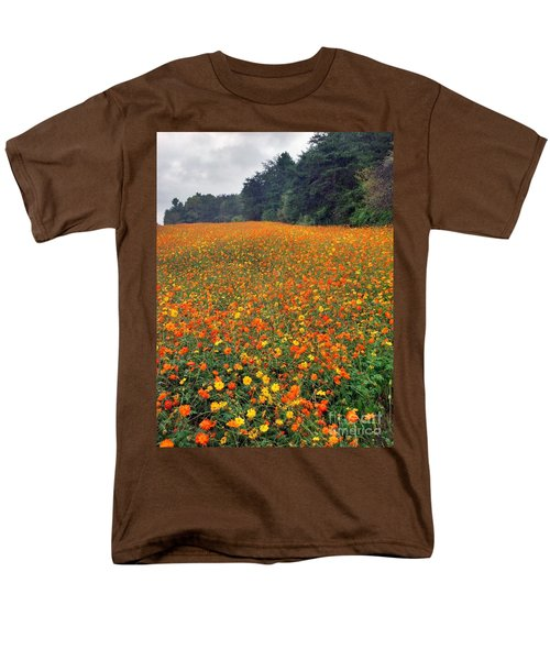 Fall Flowers Men's T-Shirt  (Regular Fit) by Janice Spivey