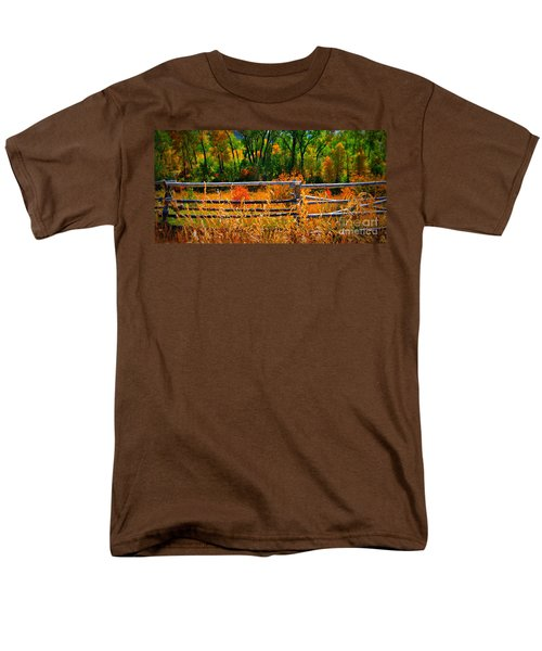 Men's T-Shirt  (Regular Fit) featuring the photograph Fall  by Janice Westerberg