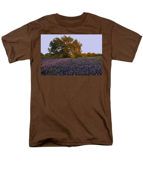 Field Of Blue Men's T-Shirt  (Regular Fit) by Susan Rovira