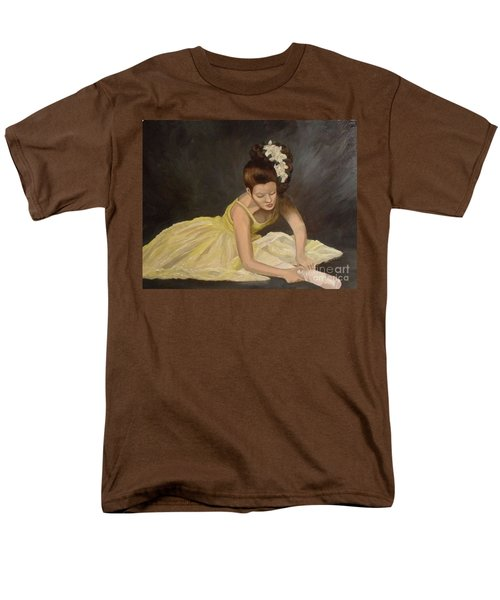 Men's T-Shirt  (Regular Fit) featuring the painting Final Preparations by Julie Brugh Riffey