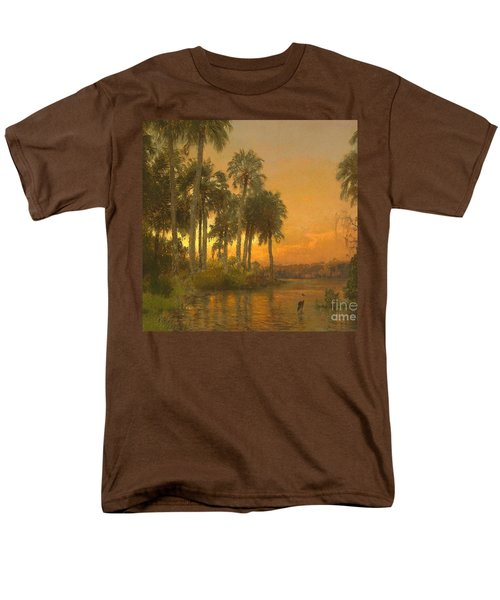 Florida Sunset Men's T-Shirt  (Regular Fit) by Pg Reproductions