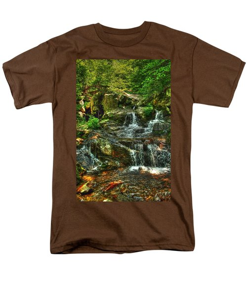 Gentle Falls Men's T-Shirt  (Regular Fit) by Dan Stone