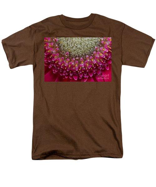 Gerbera Macro Men's T-Shirt  (Regular Fit) by Jim and Emily Bush