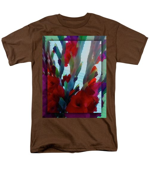 Men's T-Shirt  (Regular Fit) featuring the digital art Glad by Richard Laeton